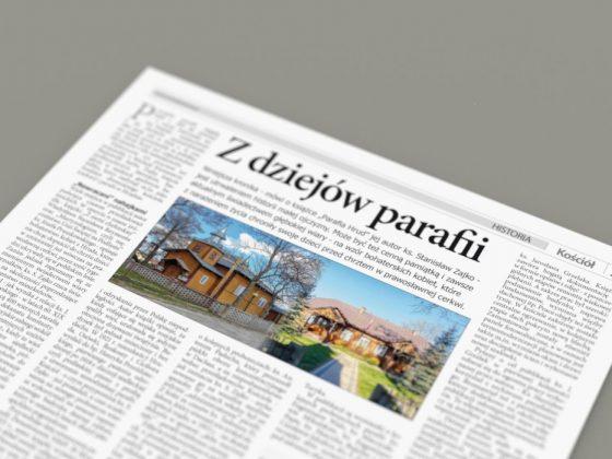 Z dziejów parafii – artykuł
